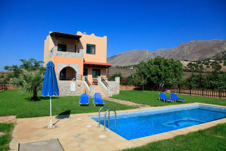 Spiros Beach Villa 971 - Image 1 - Fragkokastello - rentals