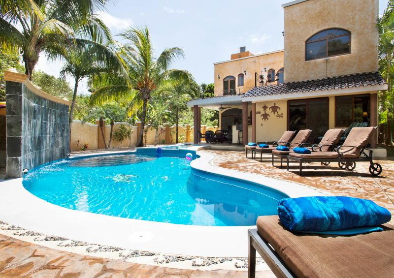 5 BR Secluded Luxury Villa with large Private Pool - Image 1 - Playa del Carmen - rentals