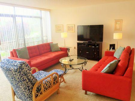 Spacious and Bright Living Area Overlooking Canal - Firethorn 514 - Sarasota - rentals