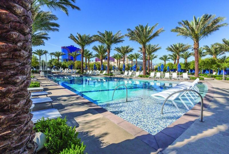 One of the resort's two outdoor pools - NEW 2 BR Resort Condo - Pools And Free Shuttle! - Las Vegas - rentals