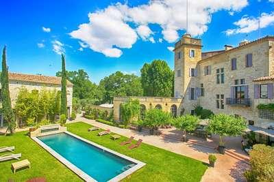 Beautiful Provencal 5 Bedroom Villa at The Foot of The Alpilles Mountains - Image 1 - Mouries - rentals
