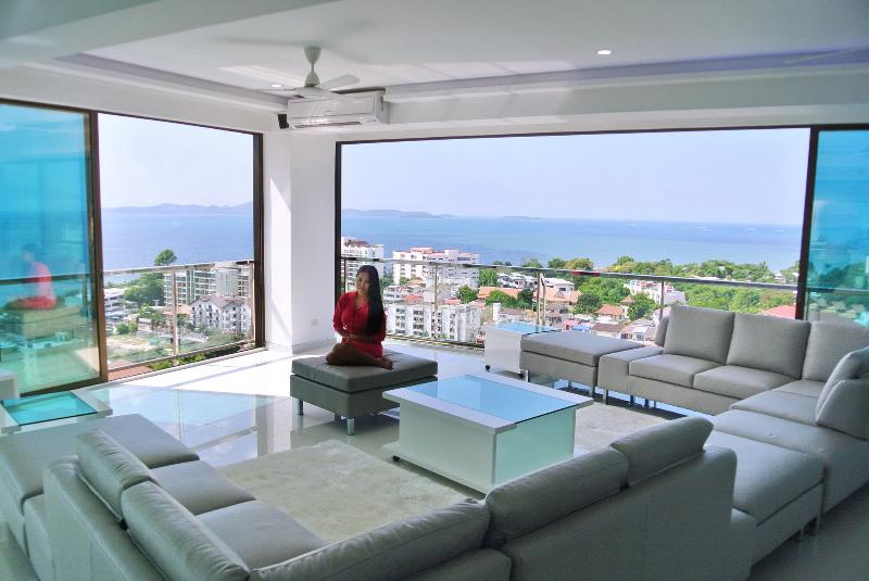 What a View !  - Penthouse Superluxury 3-5 bedrooms, 300 m2 Seaview - Pattaya - rentals
