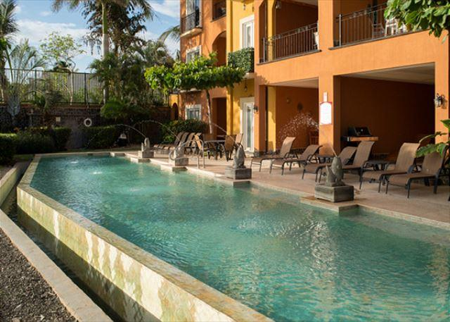 Beautiful 2BR oceanview condo- custom kitchen, shared pool  (HOR206) - Image 1 - Tamarindo - rentals