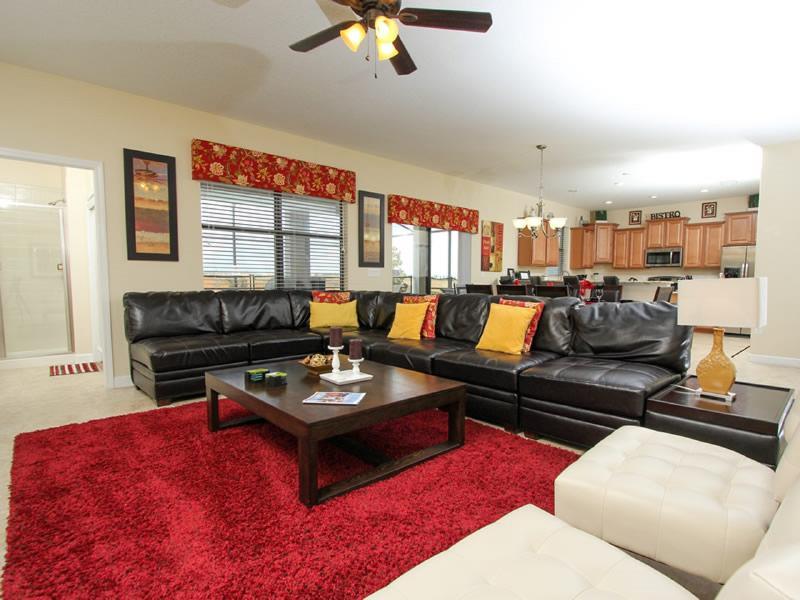 Beautiful 6 Bedroom Home Near Disney From 175nt - Image 1 - Orlando - rentals