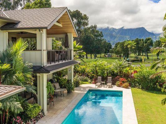 Majestic Vista Estate - has pool, great views - Image 1 - Princeville - rentals