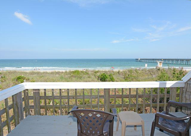 Laing - Large Oceanfront beach house with 2 kitchens and living rooms - Image 1 - Wrightsville Beach - rentals