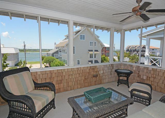Lippard House -  Comfortable sound view home with shady porches and sunroom - Image 1 - Wrightsville Beach - rentals