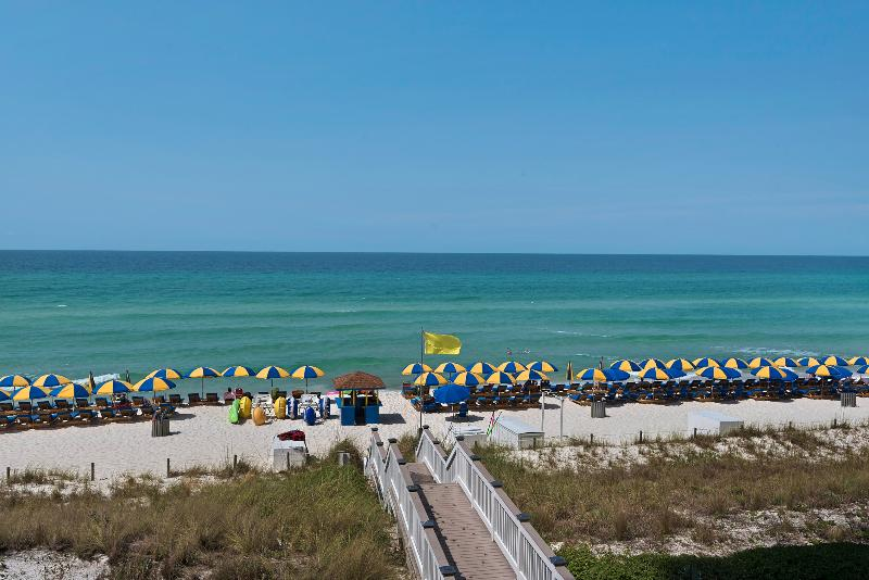 Balcony View - Sterling Breeze-3BR/3BA W/Bunks-2 Gulffront Master - Panama City Beach - rentals