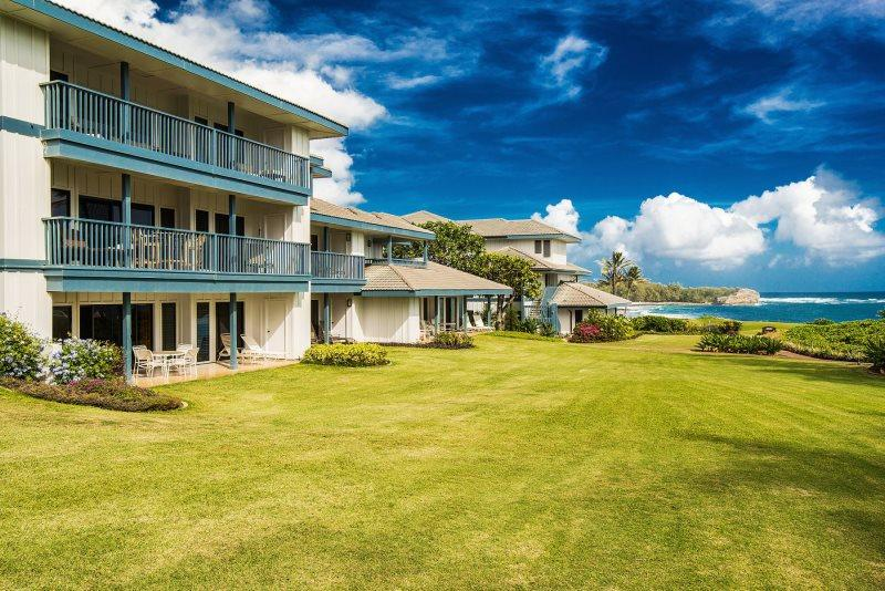 Poipu Sands - Poipu Sands 417-2 bedroom/2 bath, first floor condo only 100 yds from Shipwreck Beach-Free car w/7nt stay - Koloa-Poipu - rentals