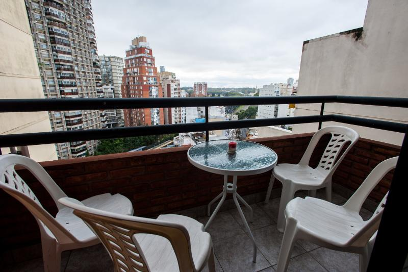 Balcony - 22 Beautiful view & Great location! A/C Wi-Fi LCD - Buenos Aires - rentals