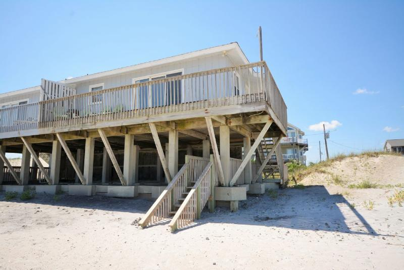 Oceanfront Side - Alexandria North - North Topsail Beach - rentals