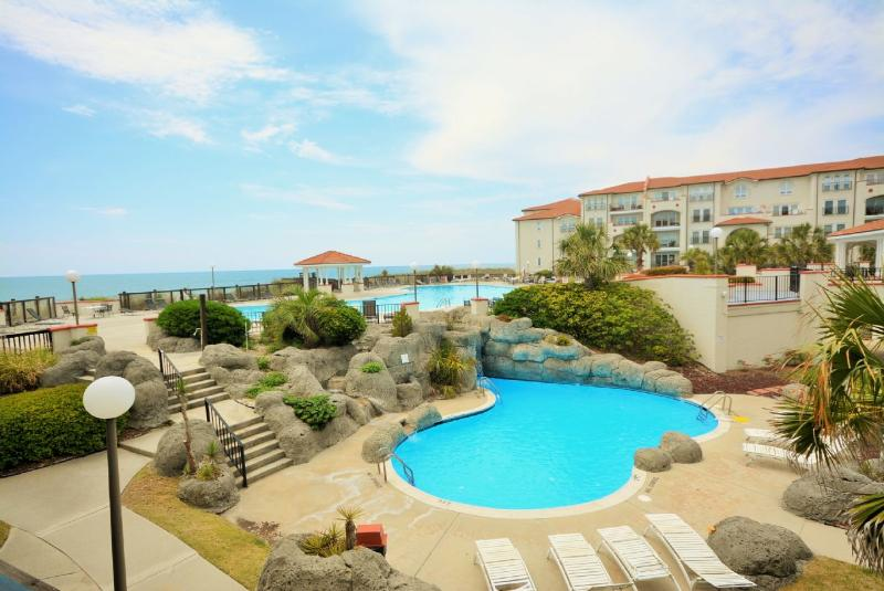 View from the Balcony - Villa Capriani 109B - North Topsail Beach - rentals