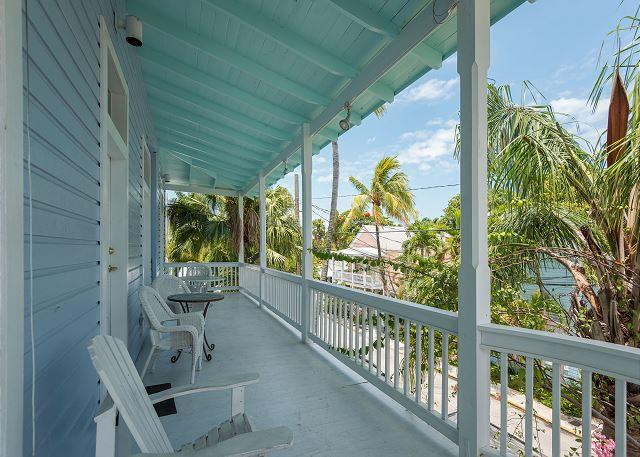 Wrap around balcony with lush views of your surroundings  - Duval Corner - Amazing Condo In Perfect Location - Key West - rentals