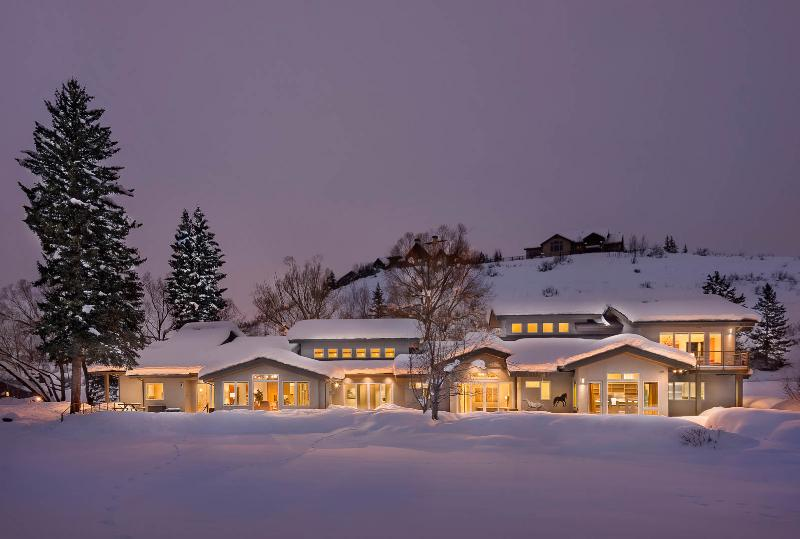 "Exterior  - ""Great Powder"" Specials : Save up to 25% at Anglers Cabin - private home w/ pond - Steamboat Springs - rentals"