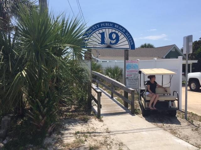 "Beach access 19 - ""The Crab Shack"" Cute Beach Cottage. - Panama City - rentals"
