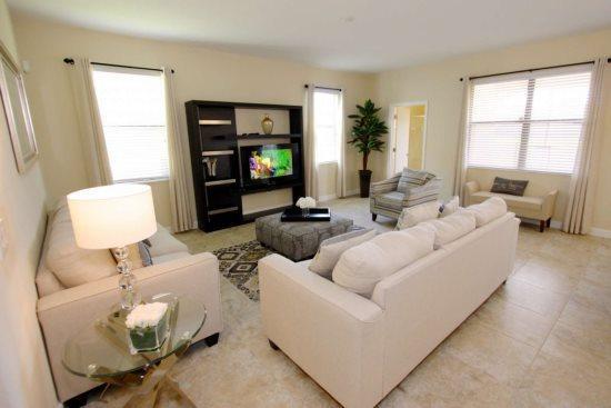 6 Bedroom 6 Bath Villa in the Disney Area. 1437RF - Image 1 - Orlando - rentals