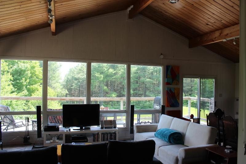 Main space - Chalet-style Cabin w/Hot Tub. Winter is coming! - Priceville - rentals