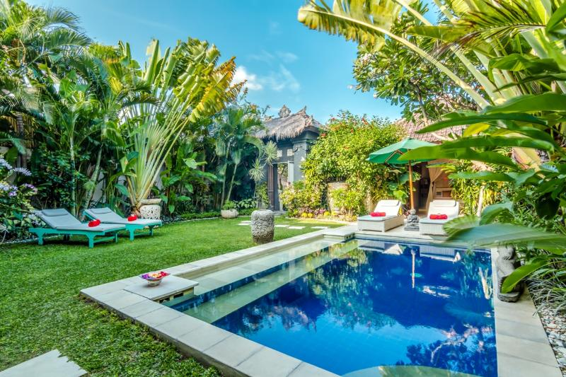 Villa Balissima swimming pool and mature tropical gardens. - Cozy 3 Bedroom Villa in Seminyak, Great Location - Seminyak - rentals