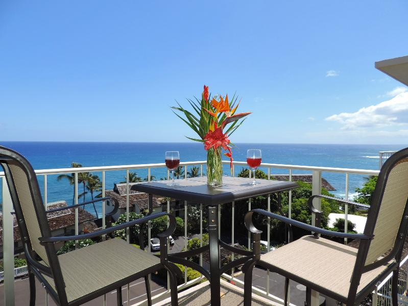 Every day will end in such sublime happiness - Sunset Kahili 507, 1BR HUGE Ocean View Top Floor Pool. Hear and see the ocean! - Koloa - rentals