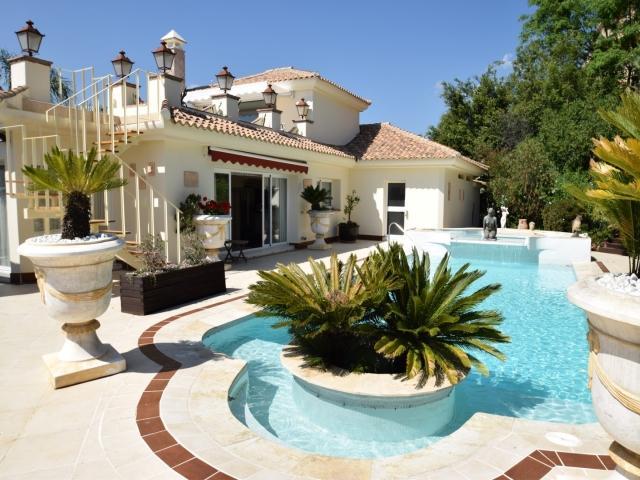 4 bedroom Villa in Golf Valley, Nueva Andalucia, Spain : ref 2245791 - Image 1 - Nueva Andalucia - rentals