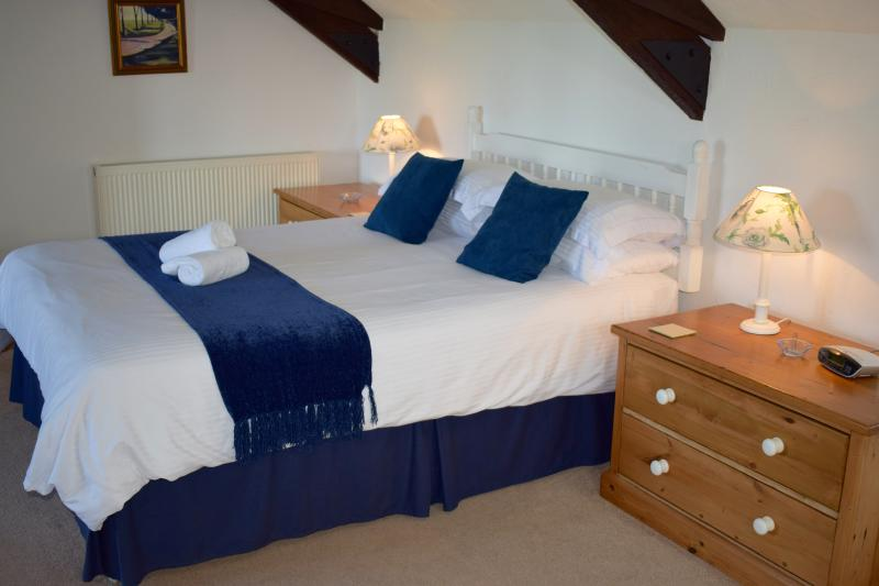 Clematis' beautiful bedroom - Clematis Cottage, Ocean Views in North Devon - Hartland - rentals
