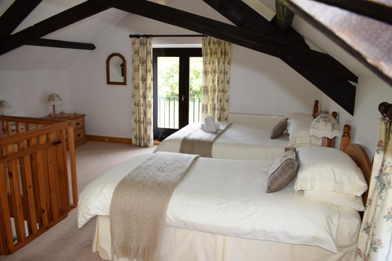 Vine's spacious bedroom - Vine Cottage on Magical North Devon Coast - Bideford - rentals