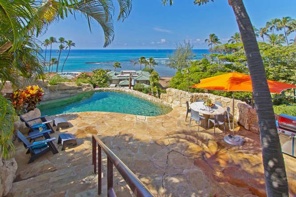 Wailele Estate - w/ pool, hot tub, great location! - Image 1 - Diamond Head - rentals