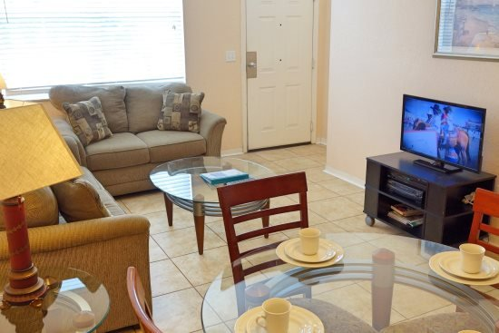 Tile on the main floor - Affordable Venetian Bay Townhouse with Room for Eight - Kissimmee - rentals