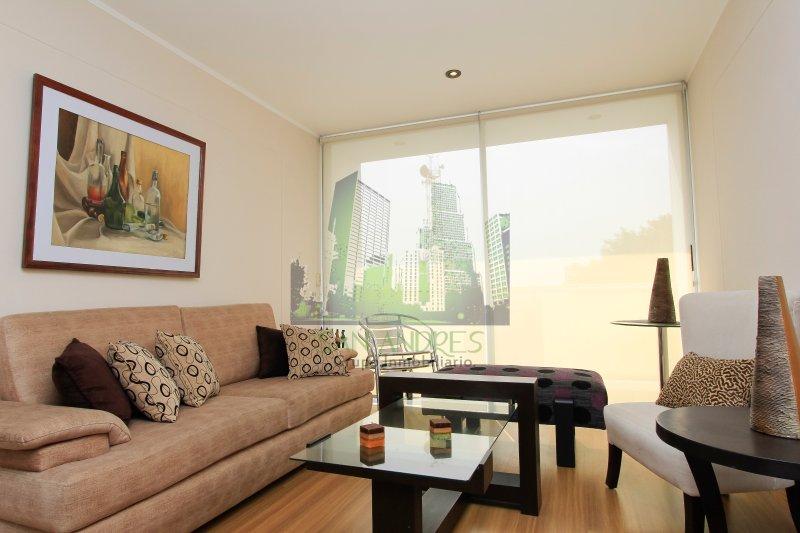 sala principal - Luxury Apartament Barranco 360° - Lima - rentals