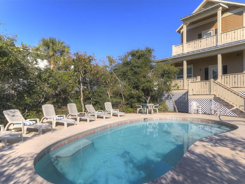 Private 26 by 13 ft. Pool - 7 BR/5 BA, Private Heated Pool, Gulf View, Wi-Fi - Destin - rentals