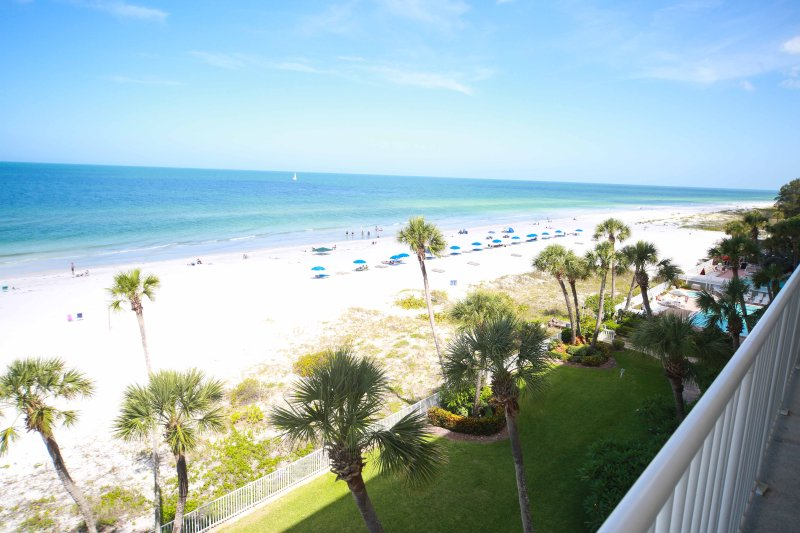 Balcony view - Sand Castle 1601 - Indian Shores - rentals