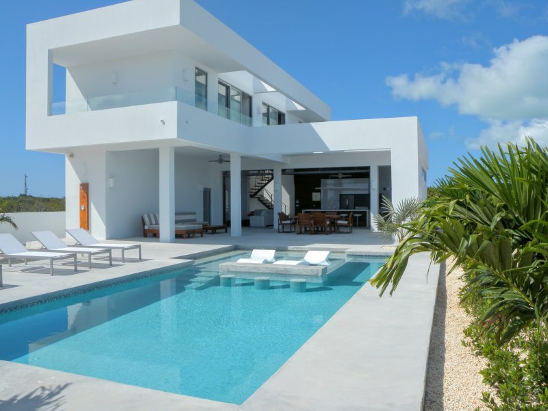Luxury Indoor / Outdoor Living... - New Villa - Great Ocean View - 2 min. from beach - Long Bay Beach - rentals