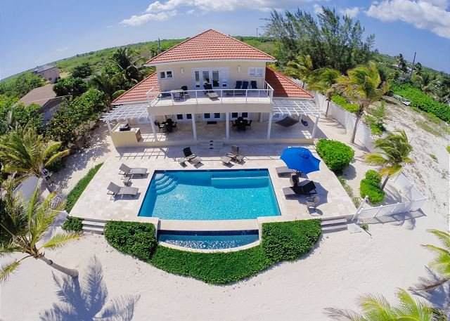 "Aerial - 4BR ""In Harmony,"" A Luxury Cayman Villas Property - 20% OFF SPECIAL! - Bodden Town - rentals"