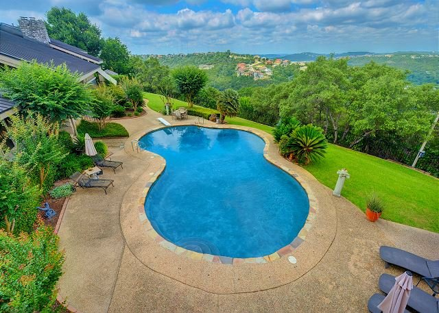 Patio - Hill Country view Villa - Austin - rentals