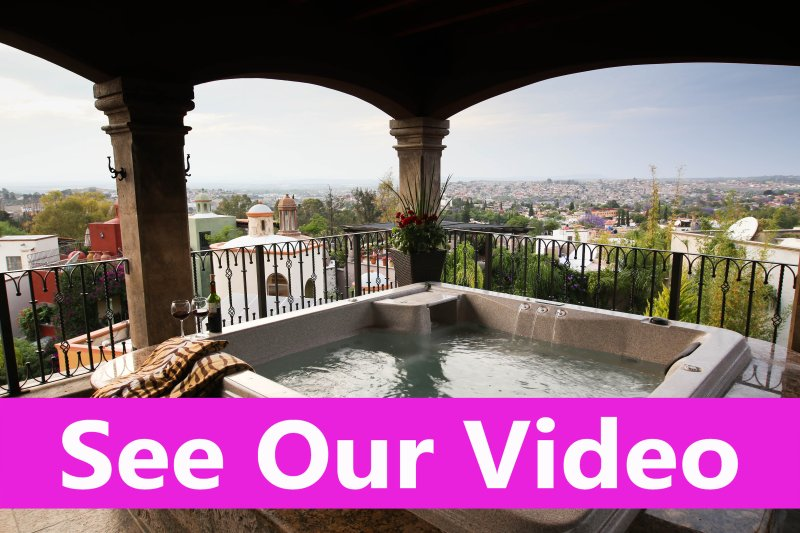 See our youtube video San Miguel de Allende, Mexican Colonial Property for Lease - Casa Grande San Miguel Luxury Accommodations - San Miguel de Allende - rentals