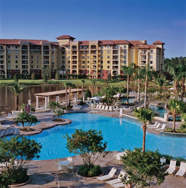 One of the resort's outdoor pools - 2 BR Bonnet Creek- Inside Disney Gates &Lazy River - Orlando - rentals