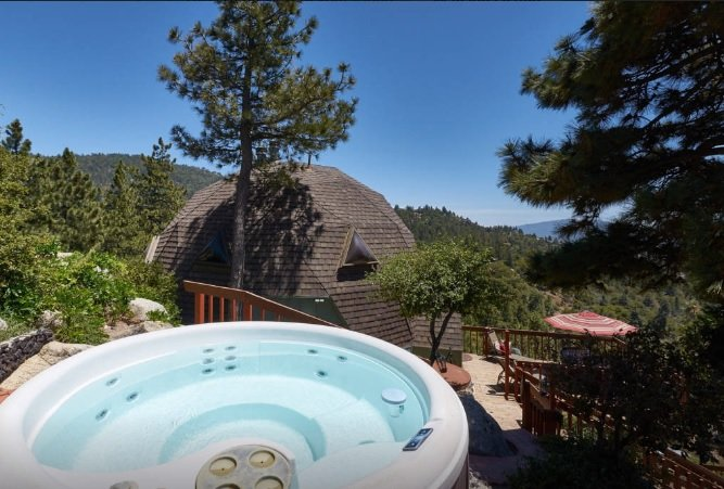 Spa with Gorgeous Views - Dramatic Geodesic Dome with amazing views, spa and walk to town - Idyllwild - rentals