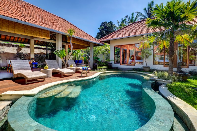 Pool and sundeck  - Heaven of Tranquillity in Canggu 2BD - Canggu - rentals