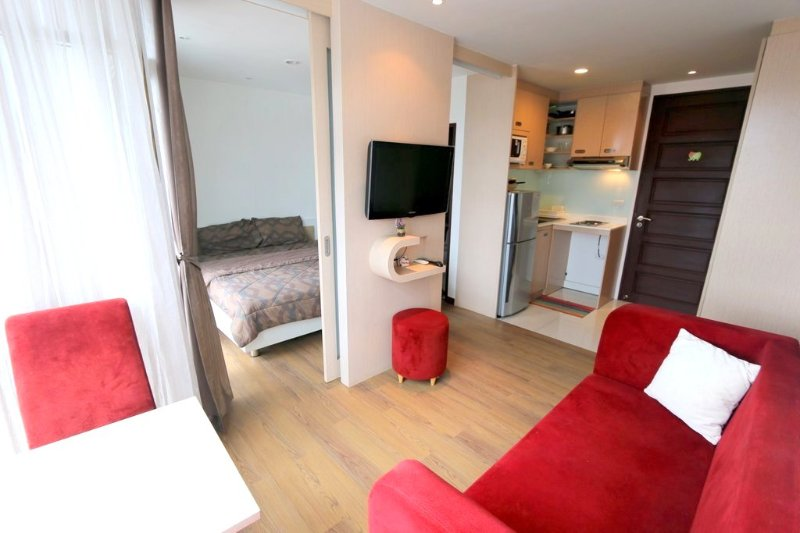 Modern apartment in Patong center pool+gym 154 - Image 1 - Patong - rentals