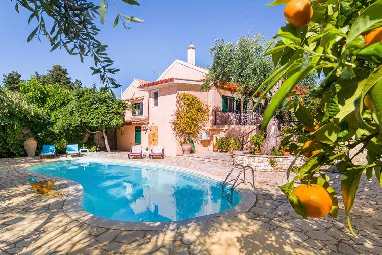 Hortensia Villa (Loggos, Paxos) - Image 1 - Loggos - rentals