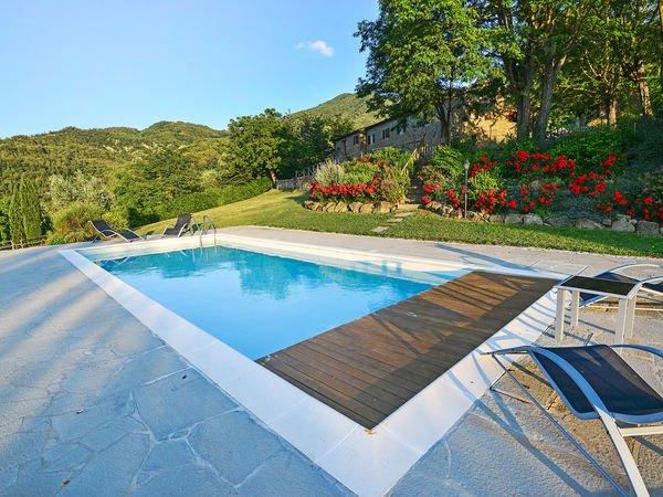4 bedroom Villa in San Bavello, Tuscany, Italy : ref 2269856 - Image 1 - San Godenzo - rentals