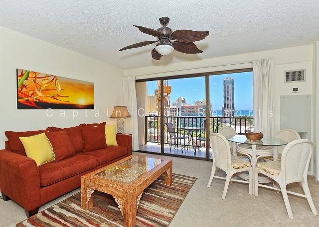 Comfort AND Convenience with Partial Ocean View! - Image 1 - Waikiki - rentals