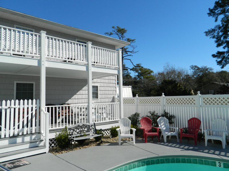 Large Private Pool - Beautiful Tropical Beach House w/ Private Pool! - North Myrtle Beach - rentals