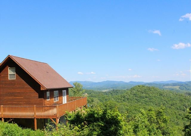 Majestic Panoramic  Views! Lower Summer Rates Now Available! - Image 1 - Grassy Creek - rentals