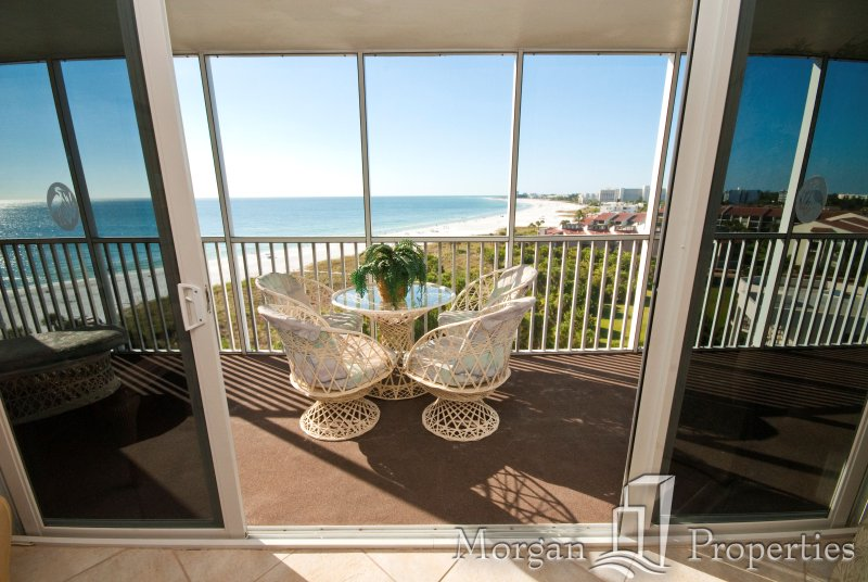 Morgan Properties - Crystal Sands 910 - Updated 2 Bed/2 Bath - Ocean-front - Image 1 - Siesta Key - rentals