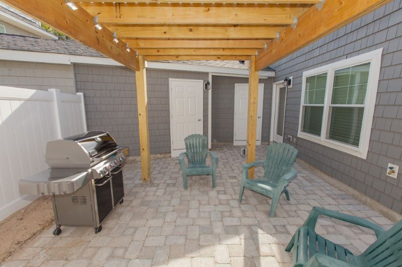 Private Patio - NE78 110A - Serenity Now - Virginia Beach - rentals