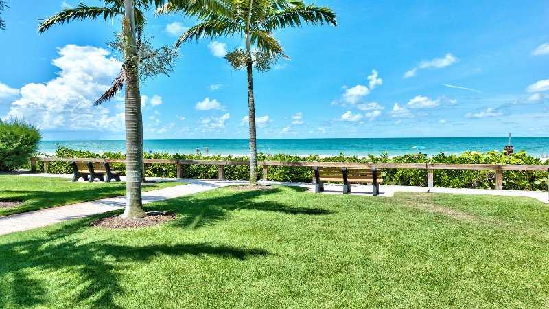 Naples Beach is only a 5 Minute Walk from the Front Door of Our Condo! - Le Monaco in Olde Naples - Naples - rentals