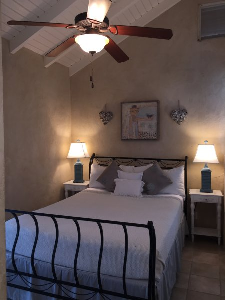 Master bedroom with ensuite - The Breeze House , 3bedroom canal front with pool - Providenciales - rentals
