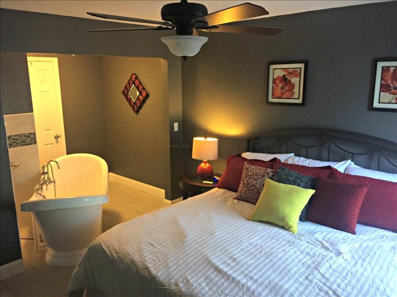Romantic Spa Suite,, King Bed, Spa Tub, WIFI, In / Out Pools ( 39-16 ) - Image 1 - Branson - rentals