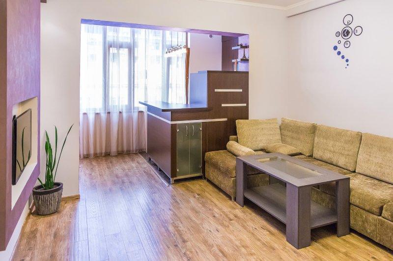 Living room, Sitting Area - Nalbandian Str /Sakharov Square: 2 Room Studio Apt - Yerevan - rentals
